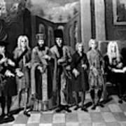 Nikolaus Von Zinzendorf (1700-1760) Poster
