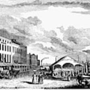 Norfolk, Virginia, 1856 Poster