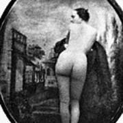 Nude Posing: Rear View Poster