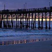 Oceanside Pier Sunset Poster