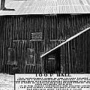Odd Fellows Historical Building Poster