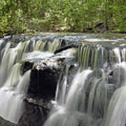 Odom Creek Waterfall Georgia Poster