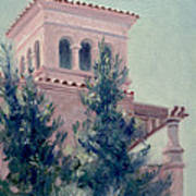 Old Bell Tower Poster