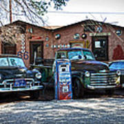 Old Cars On Route 66 Poster