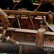 Old Farm Machine Poster