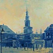 Old Poznan Poster
