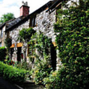 Old Terrace Houses - Peak District - England Poster