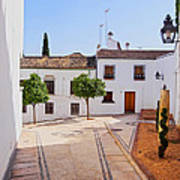Old Town In Cordoba Poster