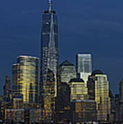 One World Trade Center At Twilight Poster