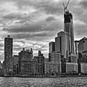 One World Trade Center Bw Poster