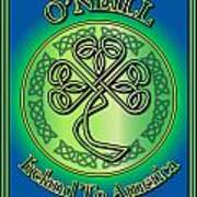O'neill Ireland To America Poster
