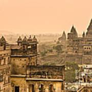 Orchha's Palace - India Poster