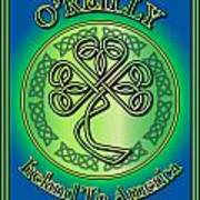 O'reilly Ireland To America Poster