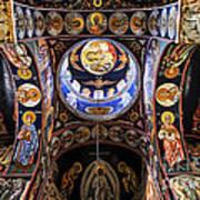 Orthodox Church Interior Poster by Elena Elisseeva