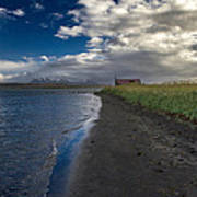 Osar Beach Iceland Poster