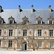 Palace Bussy Rabutin - Burgundy Poster