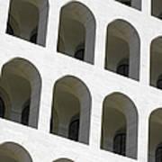 Palazzo Della Civilta' Romana Poster