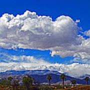 Palm Desert Clouds Poster