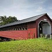 Paper Mill Covered Bridge Poster