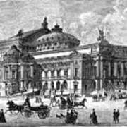 Paris Opera House, 1875 Poster