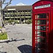 Phone Box London Poster