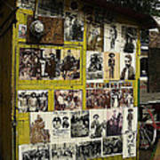 Photos Mexican Revolution Street Photographer's Shed Nogales Sonora Mexico 2003 Poster