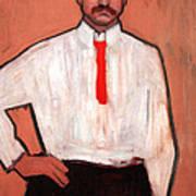 Picasso's Pedro Manach Poster