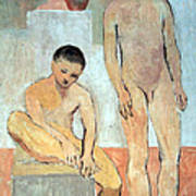 Picasso's Two Youths Poster