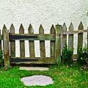 Picket Fence Poster
