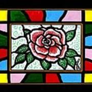 Pinkish Rose Poster