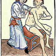 Plague Physician, 1482 Poster