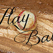 Play Ball Poster