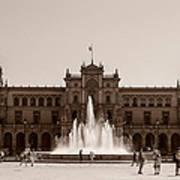 Plaza De Espana Poster