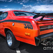 Plymouth Duster 340 Poster