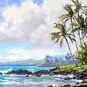 Poipu Beach #1 Poster