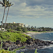 Polo Beach Wailea Point Maui Hawaii Poster