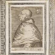 Pope Alexander Vi (roderigo Borgia) Poster