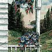 Porch Pots Poster