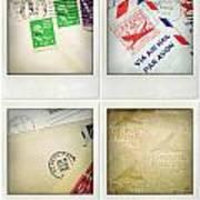Postal Still Life Poster