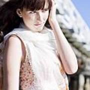 Pretty Young Fashion Model Poster