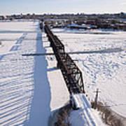 Prince Of Wales Railway Bridge, Ottawa Poster