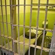 Prison Cell Alcatraz Island Poster