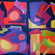 Quartet Poster by Diane Fine