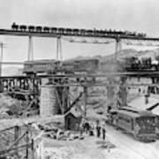 Railroading Construction Poster