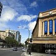 Railway Station Adelaide Poster