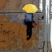 Rainy Days And Mondays Poster by David Bearden