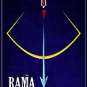 Rama The Avatar Poster by Tim Gainey