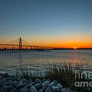 Charleston Sundown Poster