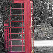 Red Phone Box Poster
