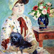 Renoir's Mlle Charlotte Berthier Poster